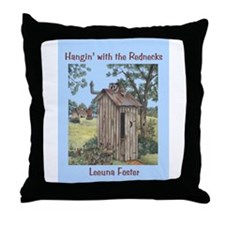 Hanging With the Rednecks  Throw Pillow