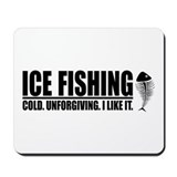 ICE FISHING Mousepad