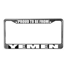 Yemen License Plate Frame
