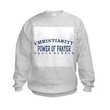 Power Of Prayer - Christianity Sweatshirt