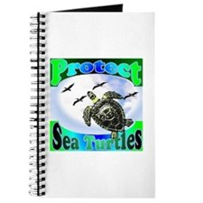 Protect Sea Turtles gifts Journal