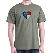 Love Hickory North Carolina T-Shirt