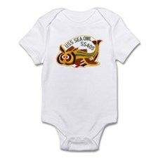 USS SEA OWL Infant Bodysuit
