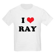 I Heart RAY Kids T-Shirt
