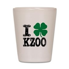 Kalamazoo Irish Shot Glass