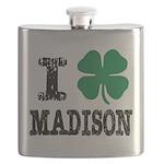 Madison Irish Flask