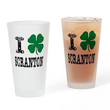 Scranton Irish Drinking Glass
