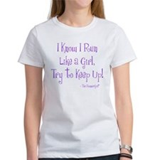 runlikeagirl-600dpi-9x10-purple T-Shirt