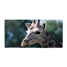 Young Rothschild Giraffe Beach Towel
