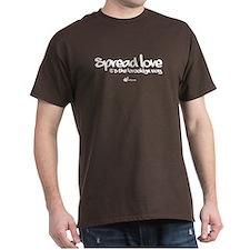 Spread Love, It's the BK Way T-Shirt