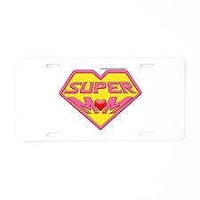 Supermom Aluminum License Plate