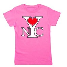 Love New York Girl's Tee