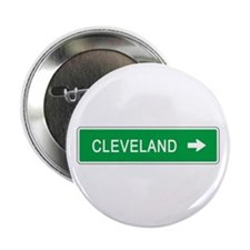 "Roadmarker Cleveland (OH) 2.25"" Button (10 pack)"
