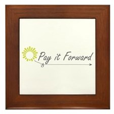 Pay It Forward Framed Tile