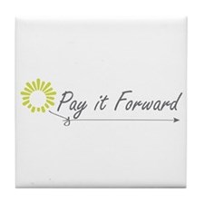 Pay It Forward Tile Coaster