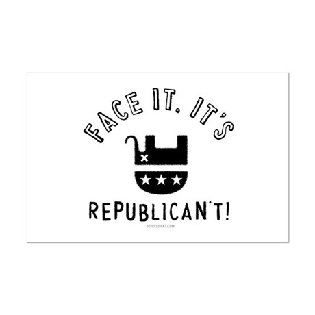 Republican't Mini Poster Print