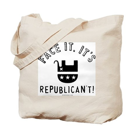 Republican't Tote Bag