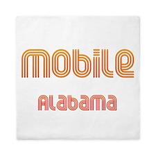 Mobile, Alabama 2 Queen Duvet