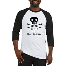 Knit or Go Home Baseball Jersey