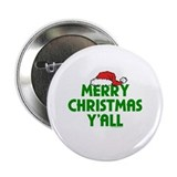 Merry Christmas Y'all Button