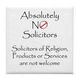 Unique Solicitor Tile Coaster