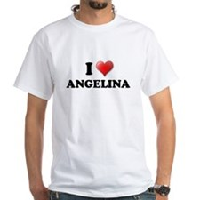 I LOVE ANGELINA SHIRT T-SHIRT Shirt