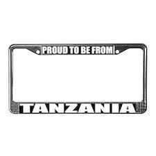 Tanzania License Plate Frame
