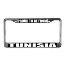 Tunisia License Plate Frame