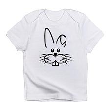 Bunny rabbit face Infant T-Shirt