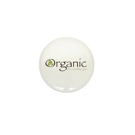 Organic for a healthier you Mini Button