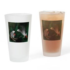 Greys in the Wild Drinking Glass