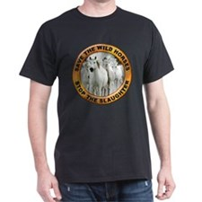 Save Wild Horses (Front) T-Shirt