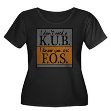 kub3.jpg Plus Size T-Shirt
