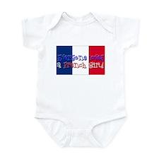 French Girl Infant Bodysuit