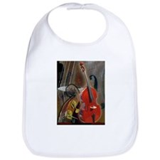 Upright Bass Art 1 Bib