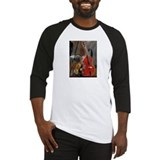 Upright Bass Art 1 Baseball Jersey