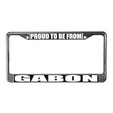 Gabon License Plate Frame