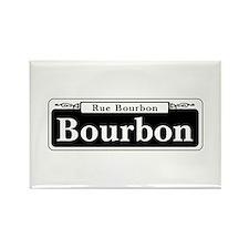 Bourbon St., New Orleans - USA Rectangle Magnet