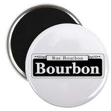 "Bourbon St., New Orleans - USA 2.25"" Magnet (100 p"