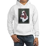 Cocker Spaniel parti colored Hooded Sweatshirt
