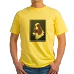 Cocker Spaniel parti colored Yellow T-Shirt