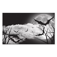 Bats in the Moonlight Decal