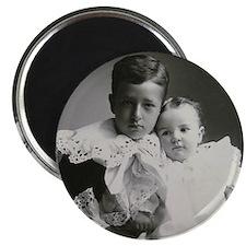 John Kenneth & Katherine Stevens Adirondack Magnet