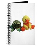 Frog and Ducky friends Journal