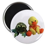 Frog and Ducky friends Magnet