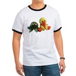 Frog and Ducky friends Ringer T