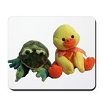 Frog and Ducky friends Mousepad