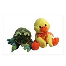 Frog and Ducky friends Postcards (Package of 8)