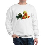 Frog and Ducky friends Sweatshirt