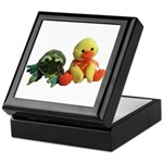 Frog and Ducky friends Keepsake Box